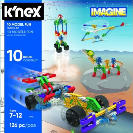 K'NEX Building Sets - 10 Model 126-delig