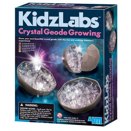 Kidzlabs Geode Kristal groeiset