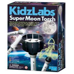 Kidzlabs: super zaklamp maan bouwpakket