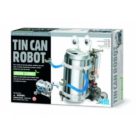 Fun Mechanics Kit: TIN Can Robot