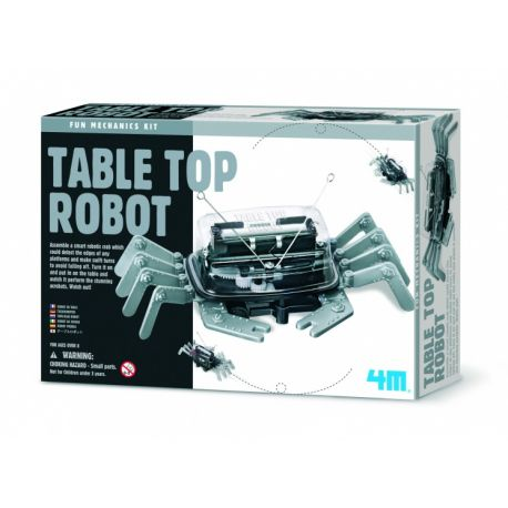 Fun Mechanics Kit: Tafelblad Robot