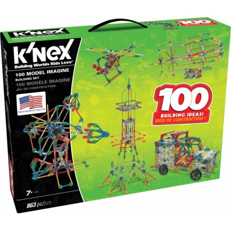 K'NEX Building Sets - 100 Model Set 800-delig
