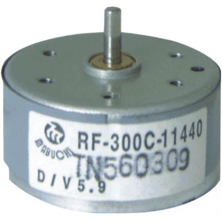 Zonne-energie en motor met lage wrijving RF300CAS, aslengte 10 mm lang
