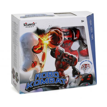 Silverlit Robo Kombat Single Pack - Rood
