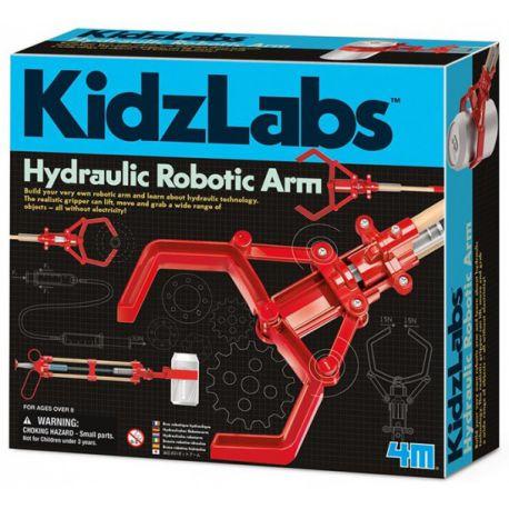 Home/Speelgoed/Educatief/Experimenteren/4M KidzLabs hydraulische arm rood 24 cm 4M KidzLabs hydraulische arm rood 24 cm