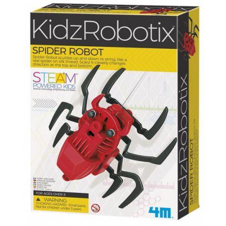 4M KidzLabs robotspin rood 24 cm