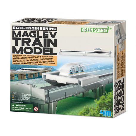 4M Kidzlabs: Maglev treinmodel bouwpakket