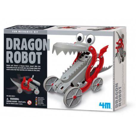 4M Fun Mechanics Kit: robotdraak bouwpakket