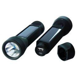 PowerPlus Salamander Krachtige 3 Watt lantaarn met lader voor telefoon