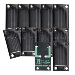 Zonnecel om te solderen SM80L50S set van 10 stuks