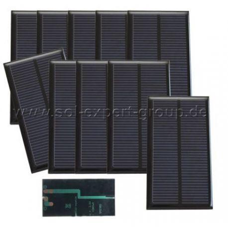 Zonnecel schroefaansluiting SM2380, ingekapseld set van 10 stuks