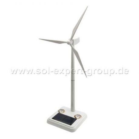 Windturbine op zonne-energie PLUS