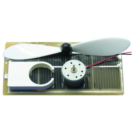 Ventilator op zonne-energie, bouwset