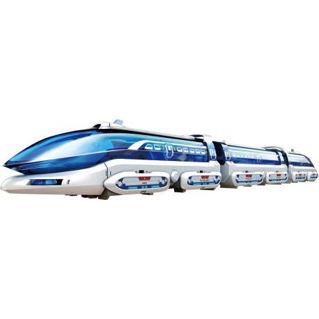 Magnetische Zwevende Trein met Rails