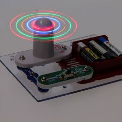 Elektro Bouwset Ventilator met Licht