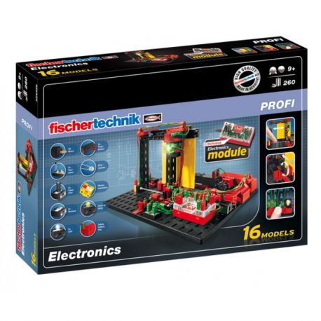 Fischertechnik Profi Constructieset Electronics, 260dlg.