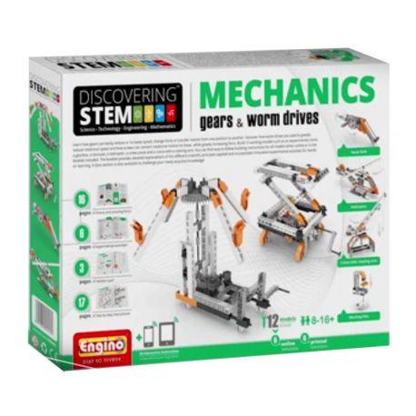 Engino STEM Mechanics - Tandwielen en Wormwielen