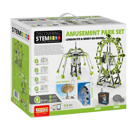 Engino STEM Mechanics - Pretpark Set