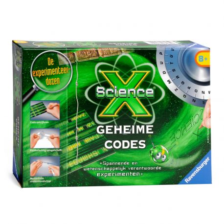 Ravensburger ScienceX® Geheime Codes