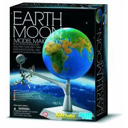 Kidzlabs Ruimte: Bouwset Maan-Aarde
